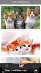 Free Cute Cat Wallpapers screenshot 2/6