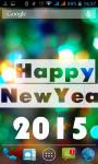 New Year 2015 Wallpaper HD screenshot 2/3