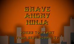 Brave Angry Ninja screenshot 1/4