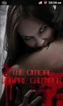 Vampire Calendar screenshot 1/3