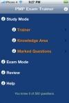 PMP Exam Trainer Free screenshot 1/1