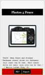 Photos 4 Peace Android screenshot 1/1