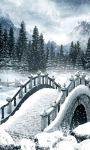 Winter Bridge Live wallpaper screenshot 2/3