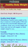 Healthy Body Weight Calculator v-1 screenshot 3/3