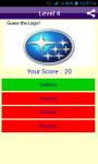 Logo Quiz Car Brand Logos Game screenshot 1/6