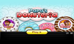 Papas Donuteria screenshot 1/6