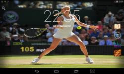 Female Tennis Wallpaper screenshot 2/4