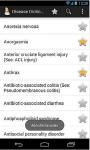 Diseases drug dictionary screenshot 2/6