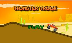Monster truck hill racing screenshot 1/6