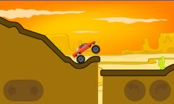 Monster truck hill racing screenshot 3/6