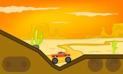 Monster truck hill racing screenshot 5/6