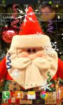 Santa Claus Christmas Live Wallpaper HD screenshot 2/2