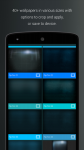 Pip Tec Blue Icons and Live Wall all screenshot 3/6