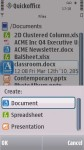 Quickoffice Pro screenshot 1/6