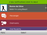 Yahoo Messenger on Blaast screenshot 2/6
