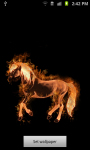 Fire Horse Live Wallpaper Free screenshot 1/3