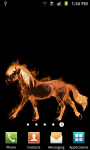 Fire Horse Live Wallpaper Free screenshot 2/3