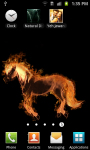 Fire Horse Live Wallpaper Free screenshot 3/3