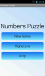 Numbers Puzzle Free screenshot 3/6