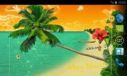 Romantic Beach Live Wallpapers screenshot 1/4