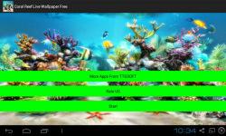 Coral Reef Live Wallpapers screenshot 1/4