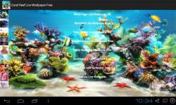 Coral Reef Live Wallpapers screenshot 2/4