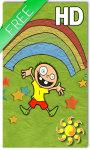 Funny Kids Rainbow LWP screenshot 1/2