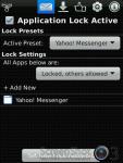 Lock for Yahoo Messenger screenshot 2/3