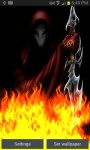 Demon in Hell Fire Flames LWP free screenshot 2/3