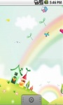 Cute Rainbow Mushroom Live Wallpaper screenshot 3/5