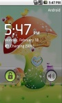 Cute Rainbow Mushroom Live Wallpaper screenshot 5/5