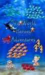 Sea world heroes adventures game free screenshot 1/4