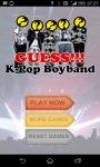 Guess KPop Boyband screenshot 1/1