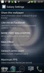 GALAXY LIVE WALLPAPER by MaWo78 screenshot 3/6