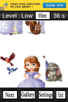 Sofia The First Puzzle Game screenshot 1/4