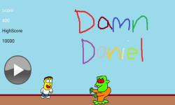 Damn Daniel Vs Zombies screenshot 2/2