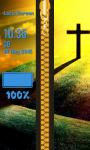 Zipper Lock Screen Christian screenshot 6/6