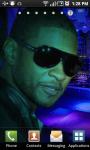 Usher Live Live Wallpaper screenshot 2/3