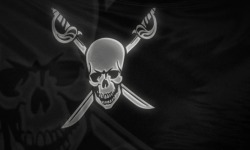 Pirates Flag Android live wallpaper screenshot 1/3