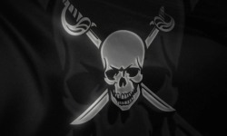Pirates Flag Android live wallpaper screenshot 2/3