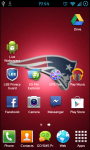 New England Patriots NFL Live Wallpaper screenshot 2/3