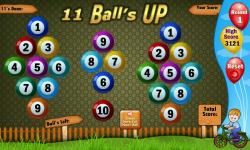 Eleven Balls screenshot 2/4