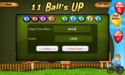 Eleven Balls screenshot 4/4
