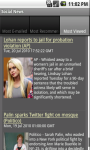 Social News App screenshot 2/6