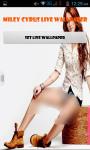 Miley Cyrus Live Wallpaper Best screenshot 1/4