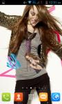 Miley Cyrus Live Wallpaper Best screenshot 2/4