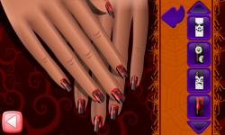 Halloween Nail Free screenshot 4/6