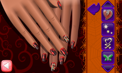 Halloween Nail Free screenshot 5/6
