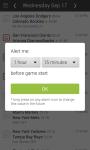 MLB Pro Baseball Live Scores Schedules Alerts screenshot 4/5