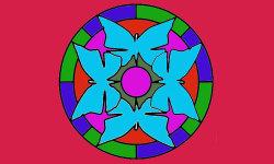 Coloring Mandalas Funny 2 screenshot 1/4